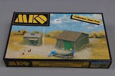 Z257 MKD 669 maquette train Ho 1:87 cabane + appentis diorama shed and lean kit