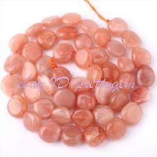 "5x8-7x11mm Natural Freeform Sun Stone Gemstone Beads Spacer Loose Strand 15"""