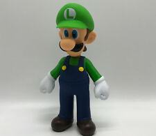 "New Super Mario Bros. Luigi Doll PVC Plastic Action Figure Toy 9.5"" BIG Size"