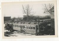LEHIGH VALLEY TRANSIT Trolley 69th Street Station PHILADELPHIA PA 1944 Photo