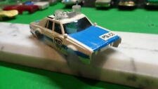 AFX slot car body / 1979 chevy police car / hy-71 / missing front bumper!