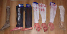 HALLOWEEN Arms & Legs Body Parts HAUNTED HOUSE PROP DECOR LOT