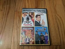 Big Fat Liar / Johnny English / Thunderbirds / Rocky and Bullwinkle DVD Set