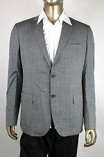 New Bottega Veneta Men's Gray Wool Blazer Jacket IT 52/US 42 299711 1000