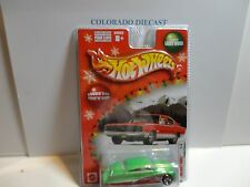Hot Wheels Holiday Rods Green/Red Purple Passion w/Real Riders