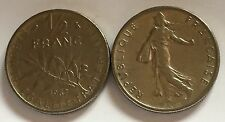 1/2 Franc Semeuse Nickel 1967