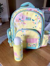 Girls School Kinder Backpack With Drink Bottle. New. Penny Scallan Design