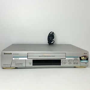 Panasonic NV-SJ400 - 4 Head VHS VCR Player - Tested & Working! Free Postage!