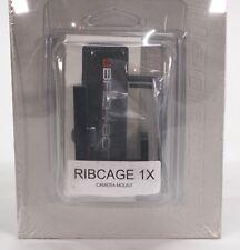 RIBCAGE BACKBONE 1x MOUNT MOD KIT FOR GOPRO HD HERO4 CAMERA BLACK MOD1X