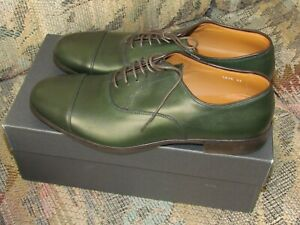 Thanksgiving Sale! Doucals Milano Green Handmade Leather Dress Shoes. Size 43ITA