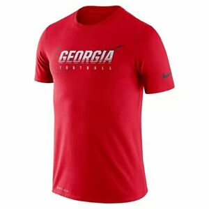 NWT Men's Nike Georgia Bulldogs Football T-Shirt (L)