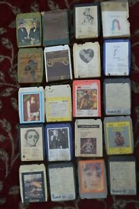 8-TRACK TAPEs - various  x 18