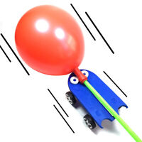 HN- BH_ KE_ Funny Balloon Powered Car Vehicle Science Experiment Educational Stu