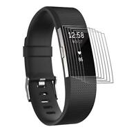6x Fitbit Charge 2 Schutzfolie Display Schutz Folie Displayschutz Displayfolie