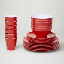 Barel Classic 24 Piece Melamine Dinner Set 21 Colours - Tumblers, Bowls & Plates