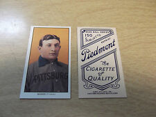 HONUS WAGNER 1909 T-206 TOBACCO REPRINT CARD PIRATES