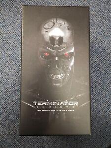 Terminator Genisy T-800 Endoskeleton 1.10 scale status Rare Skydance 074