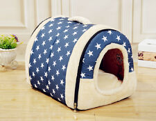 Puppy Detachable Warm House Modern Pet Dog Cat Portable Kennel Nest Bed Cushion