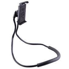 Adjustable Lazy Neck Hanging Cell Phone Holder Stand Mount Support Bracket BLACK