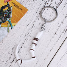 Dota2 Pudge Inscribed Dragonclaw Hook Key Chain Keyring Pendant Dota Game
