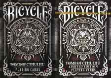 Bicycle Tomb of Cthulhu Playing Cards 2 Deck Set - Limited Edition - SEALED