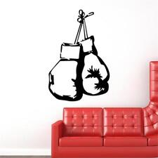 Boxing gloves fight sport decal gym wallpaper boys bedroom home Wall sticker