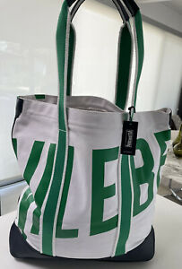 NWT. Vilebrequin Tote/Beach Bag. Canvas And Leather.