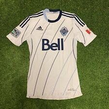 2012 2013 Vancouver Whitecaps Adidas Home Jersey Shirt Kit White Small S Mls