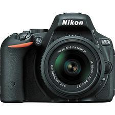 Nikon D5500 DX-format Digital SLR w/ 18-55mm VR II Kit (Black)!! Brand NEW!!