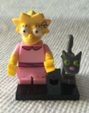 Lego Lisa Simpson Minifig Simpsons Series 2 #3 Homer Daughter Cat Snowball