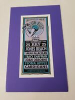 LILITH FAIR 1997 FIONA APPLE Card Print MARK ARMINSKI Jones Beach New York