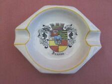 Geiersthal Malerei Porzellan Aschenbecher Ascher Wappen Dessau handausgem. 30137