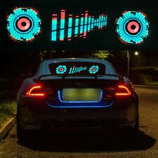 Car Sticker Music Rhythm Led Decorative Lamp Kit PVC Flash Light Sound Activated