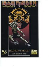 IRON MAIDEN LEGACY OF THE BEAST #5 (OF 5) CVR B  DONE BY MARK ENGLERT