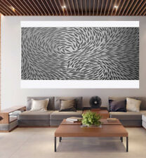 200cm fish  dreaming grey original art painting signed By Jane COA Australia