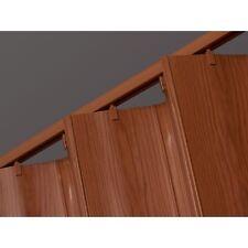 Plastic Accordion Door Room Divider Folding Door Solid Vinyl Panel Construction
