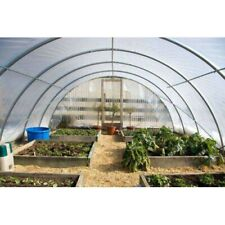 8 Mil 4 Year Clear Plastic Greenhouse Poly Film 20 ft. Wide - *VARIOUS LENGTHS*