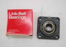 New Link-Belt Flange Block Ball Bearing 4 Bolt Square Mount F3219E 1-3/16""