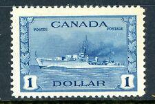 Canada 1942 Pictorial 50¢ Destroyer Scott #262 MNH R118