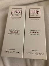 Nelly DeVuyst Hydrocell Cleansing Milk 2 Pack NEW IN BOX 1 fl oz / 30 ml each