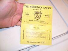 Original Ford dealer nos promo auto Visor glovebox holder accessory old vintage