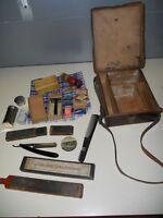 Rare lot accessoires hygiène rasage vie courante soldat Allemand WW2