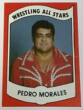 1982 Wrestling All Stars PEDRO MORALES Rookie Card #14 In The Set
