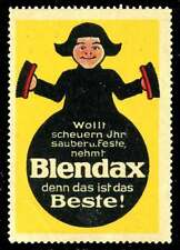 Germany Poster Stamp - Advertising Blendax - Cleaner