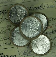 (ONE) UNCIRCULATED $10 Silver Dollar Roll Morgan Dollar Coin Lot BU UNC
