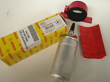 BOSCH MOTORSPORT 044 INLINE EXTERNAL FUEL PUMP + RED BRACKET
