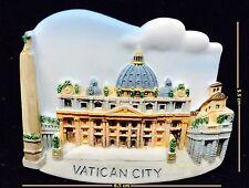 VATICAN CITY ST. PETER'S BASILICA ITALY 3D MAGNET SOUVENIR FRIDGE RESIN TOURIST