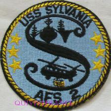 PUS485 - US NAVY USS SYLVANIA AFS-2 PATCH