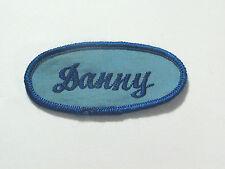 Danny Name Patch Mechanics Garage Gas Station Vintage Automobile Patch