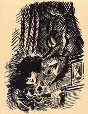 Die ABWESENDE - Frans MASEREEL 1947  - L´ABSENTE
